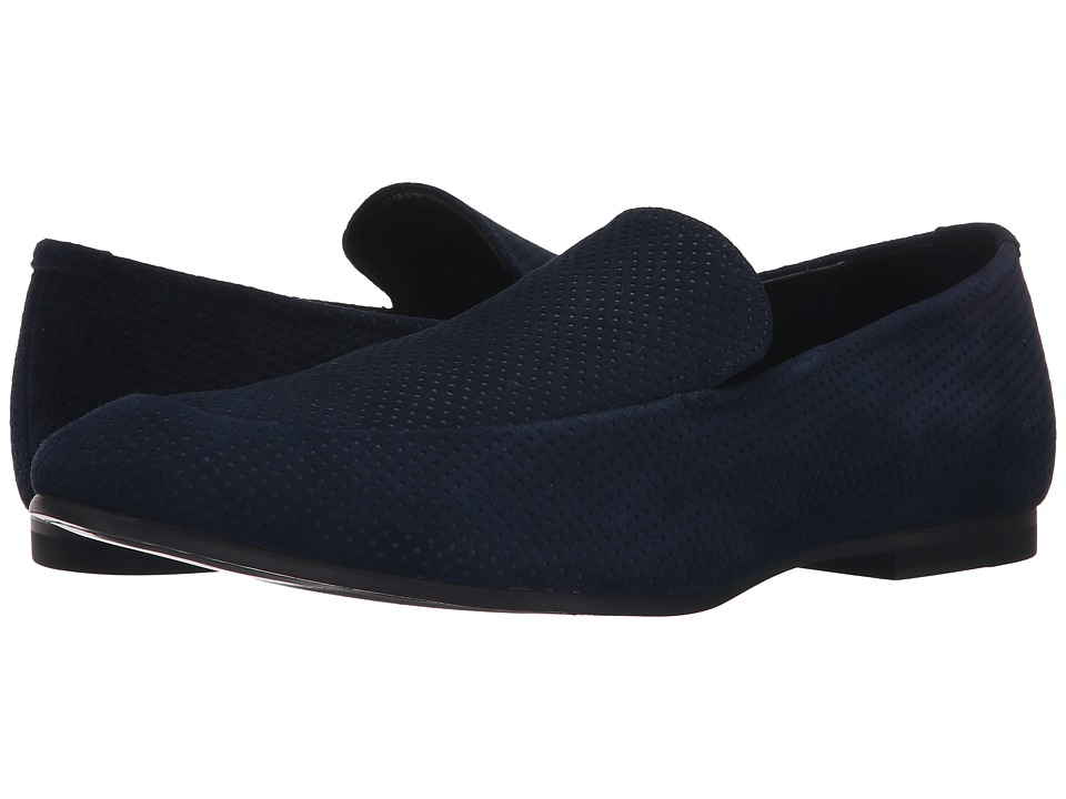 Calvin Klein Nicco (Dark Navy Embossed Suede) Men