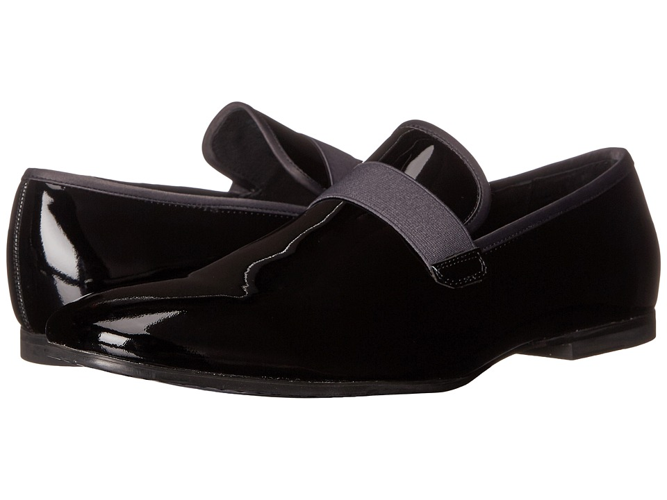 Calvin Klein Nemo (Black/Dark Grey Patent Leather/Satin) Men