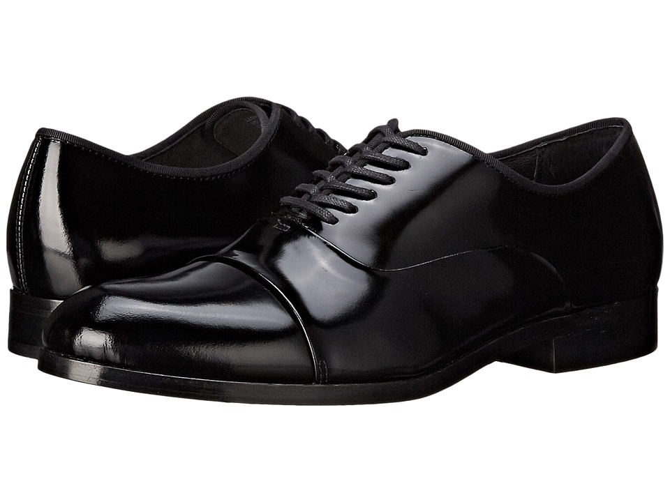Calvin Klein - Lloyd (Black Brush-Off Box) Men's Lace up casual Shoes