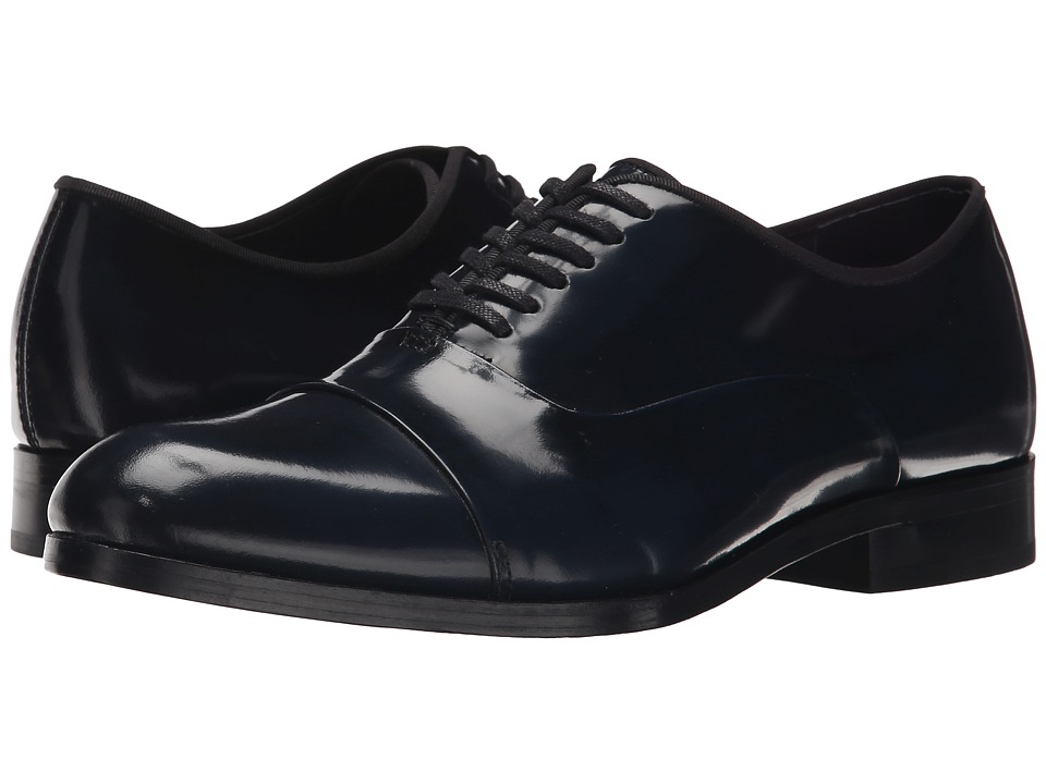 Calvin Klein - Lloyd (Dark Navy Brush-Off Box) Men's Lace up casual Shoes
