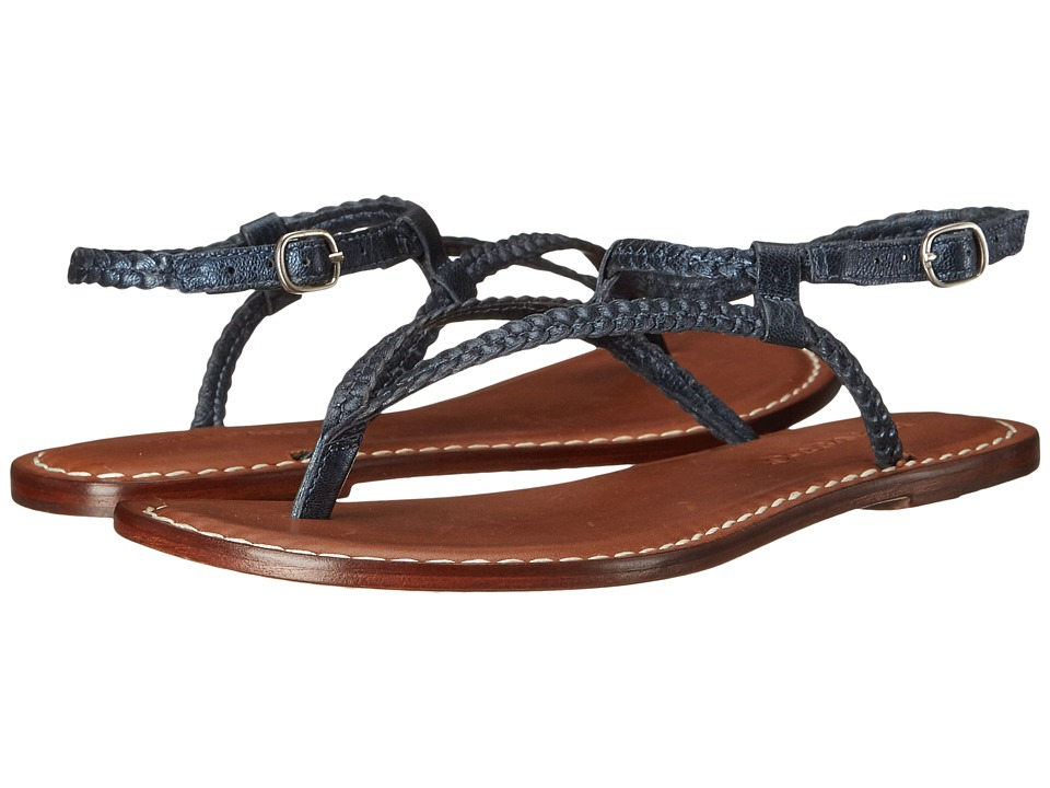 Bernardo - Merit Woven (Navy) Women's Sandals