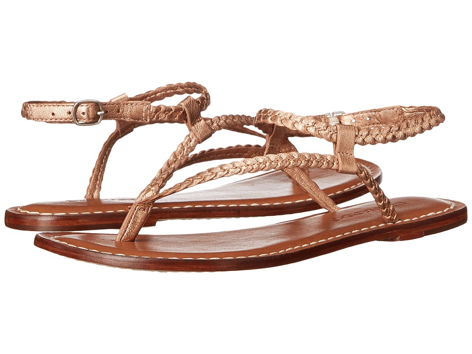 Bernardo - Merit Woven (Rose Gold) Women's Sandals