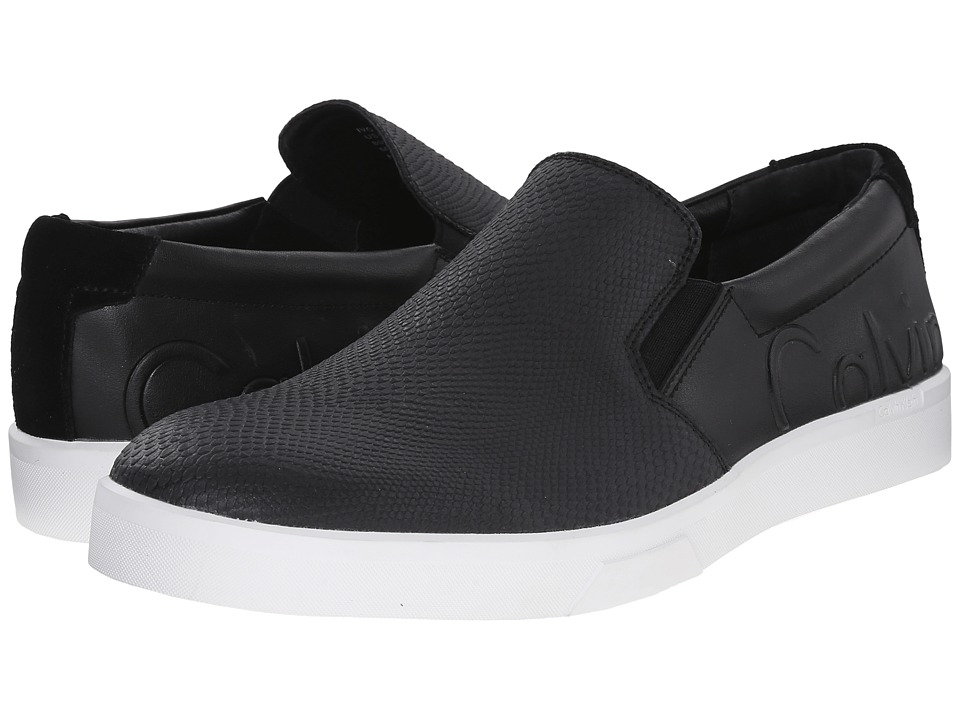 Calvin Klein - Ivo (Black Leather) Men
