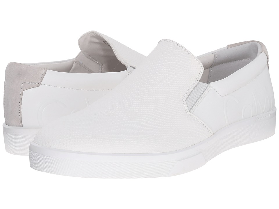 Calvin Klein - Ivo (White Leather) Men