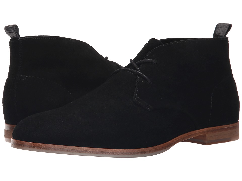 Calvin Klein - Farnel (Black Oily Suede) Men