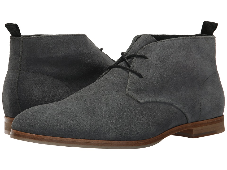 Calvin Klein - Farnel (Grey Oily Suede) Men