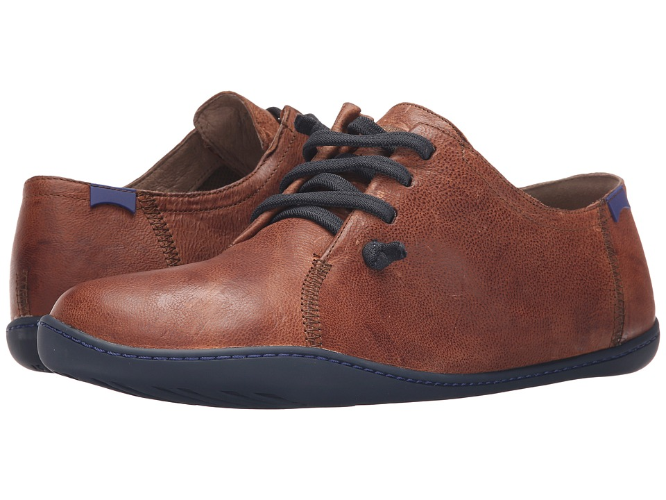 Camper - Peu Cami Basket Fold-18736 (Medium Brown) Men's Lace up casual Shoes
