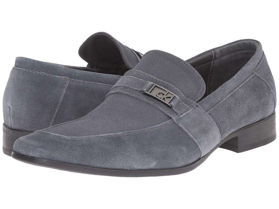 Calvin Klein Bartley (Grey Suede) Men's Shoes