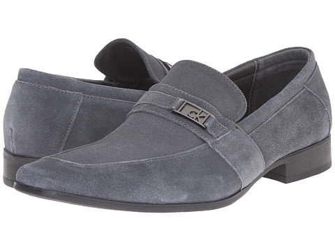 Calvin Klein - Bartley (Grey Suede) Men's Shoes