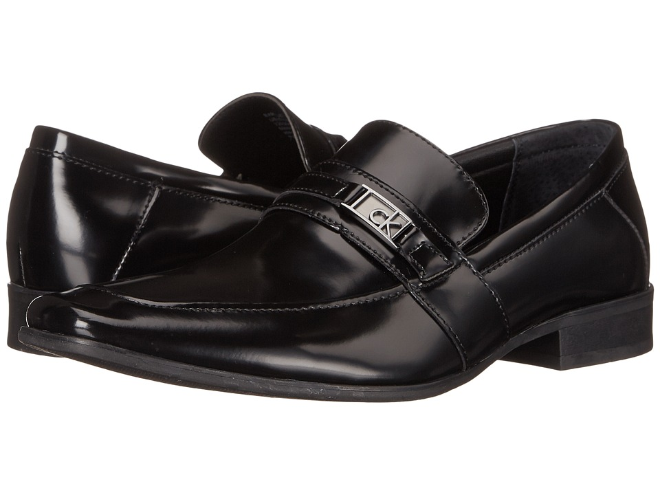 Calvin Klein - Bartley (Black Box Smooth) Men's Shoes