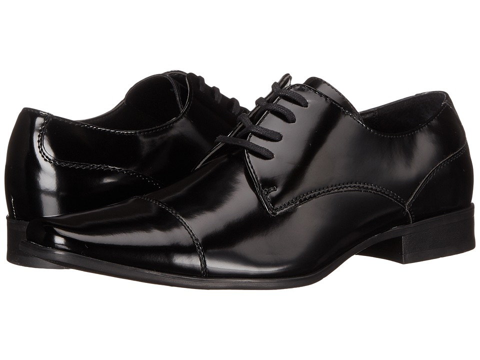 Calvin Klein - Bram (Black Box Smooth) Men's Lace up casual Shoes