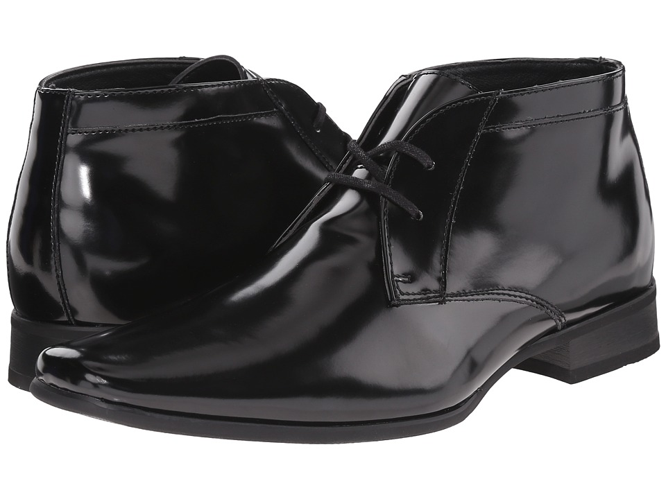 Calvin Klein - Ballard (Black Box Smooth) Men's Shoes