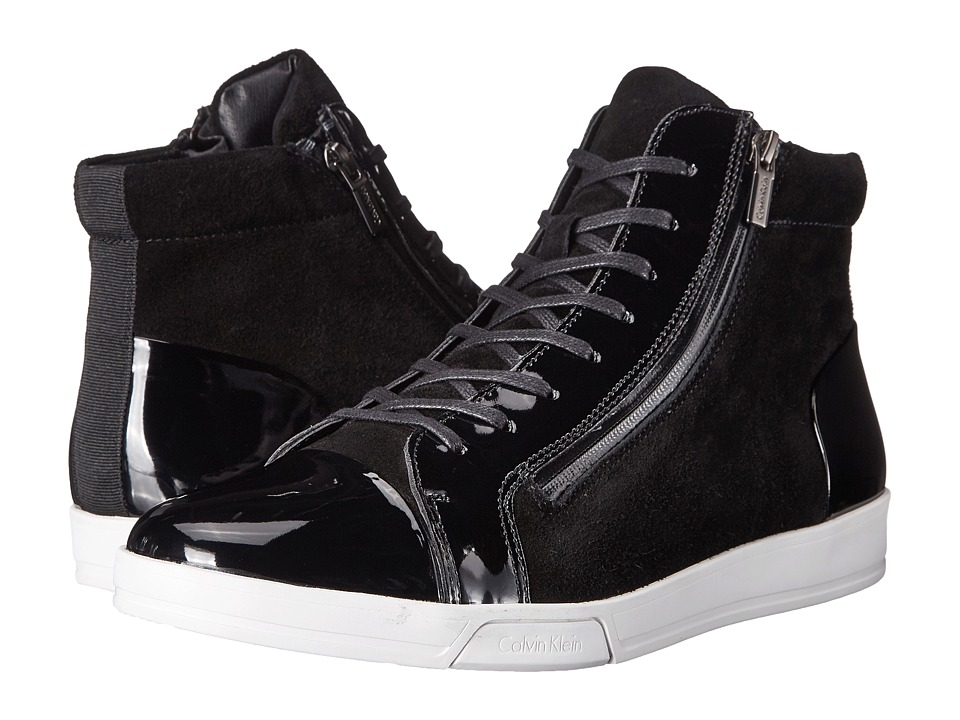 Calvin Klein - Berke (Black Oily Suede) Men