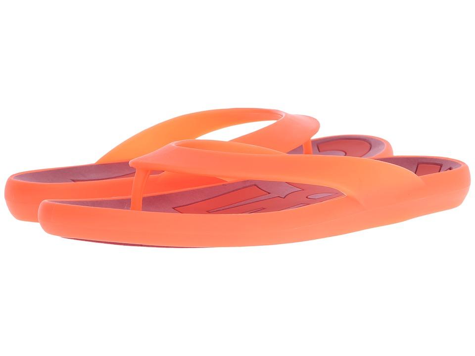 Camper - Dolphin - K100044 (Dark Orange) Men's Sandals