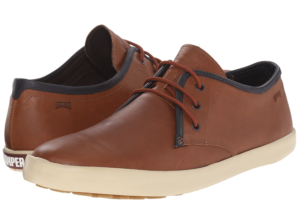 Camper - Pelotas Persil Vulcanizado - K100008 (Medium Brown) Men's Lace up casual Shoes