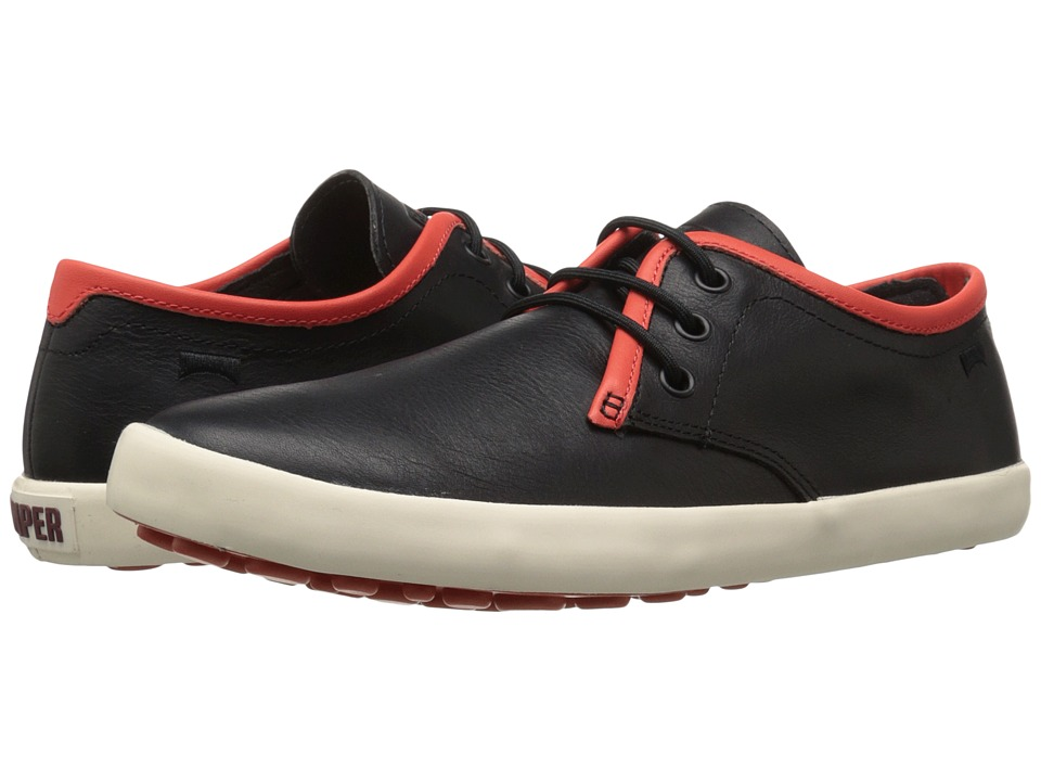 Camper - Pelotas Persil Vulcanizado - K100008 (Black) Men's Lace up casual Shoes