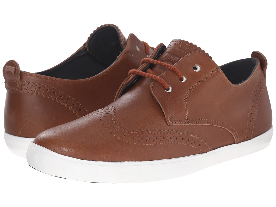 Camper - Jim - K100047 (Medium Brown) Men's Lace up casual Shoes