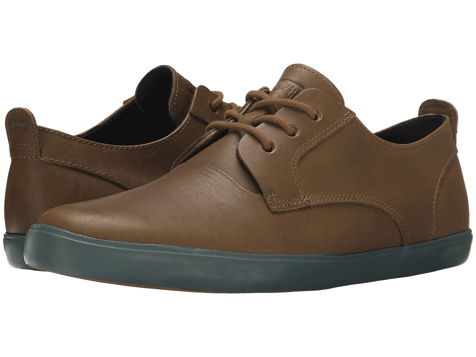 Camper - Jim - K100084 (Medium Brown) Men's Lace up casual Shoes