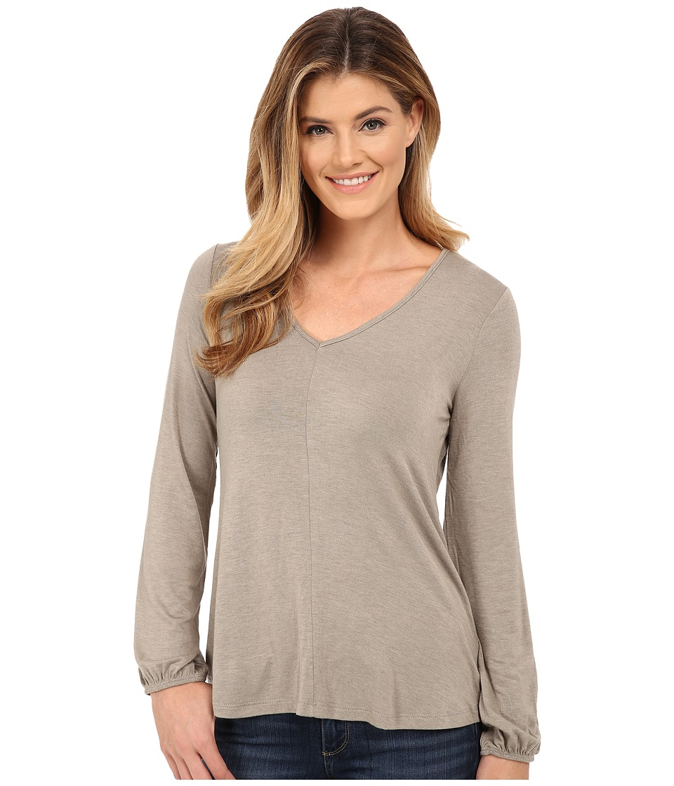 B Collection by Bobeau - Bell Sleeve Knit Top (Frost Olive) Women