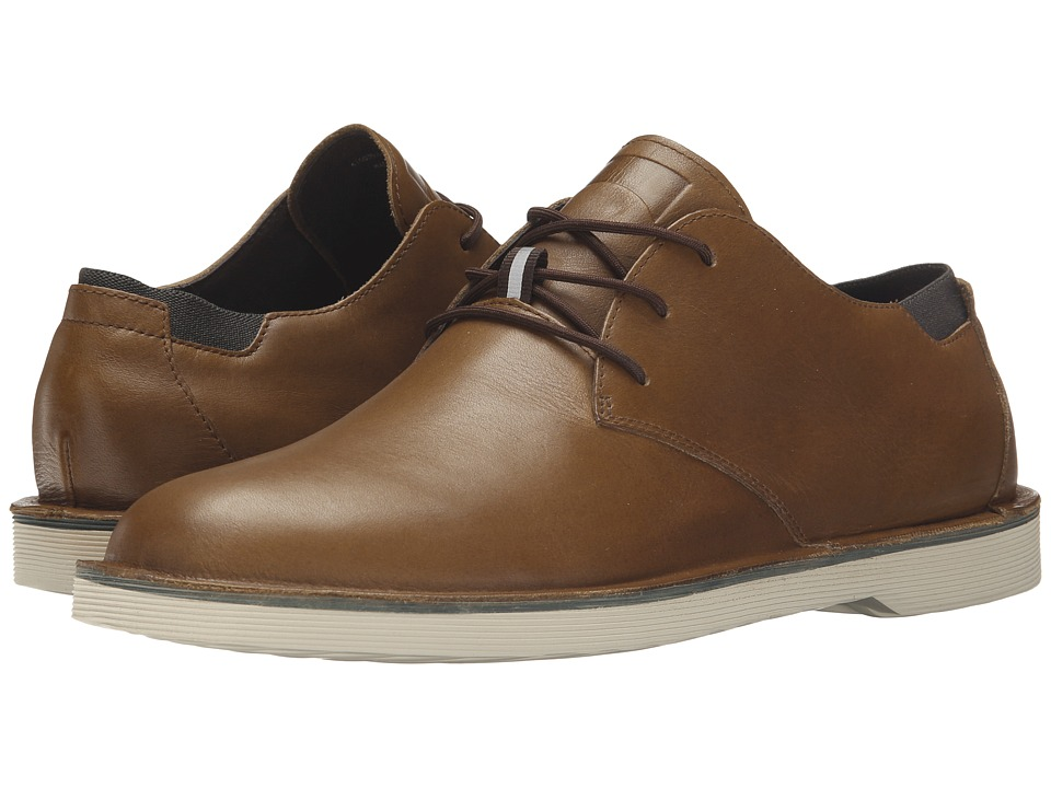 Camper - Morrys - K100057 (Medium Brown) Men's Lace up casual Shoes