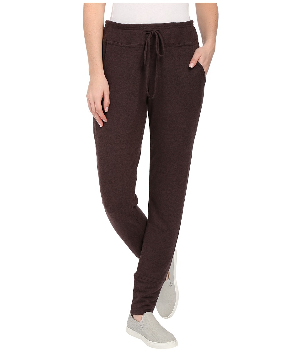 B Collection by Bobeau - Brushed Jogger Pants (Deep Eggplant) Women's Casual Pants