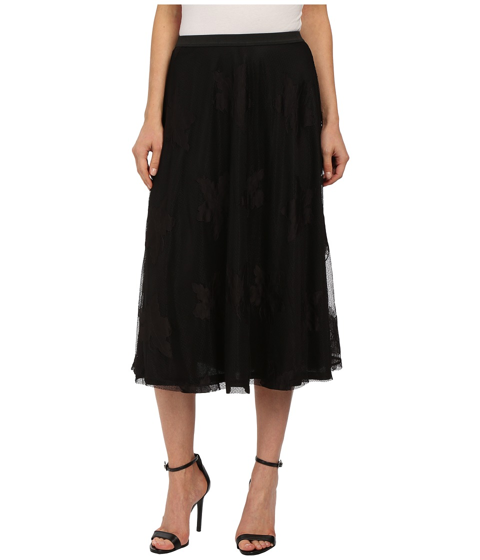 B Collection by Bobeau - Lace Aline Skirt (Black) Women's Skirt