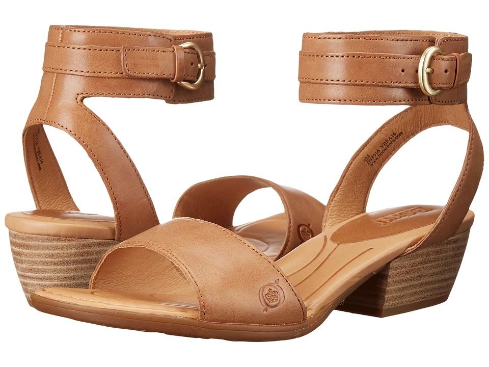 Born - Beyer (Tan Full Grain Leather) Women's Sandals
