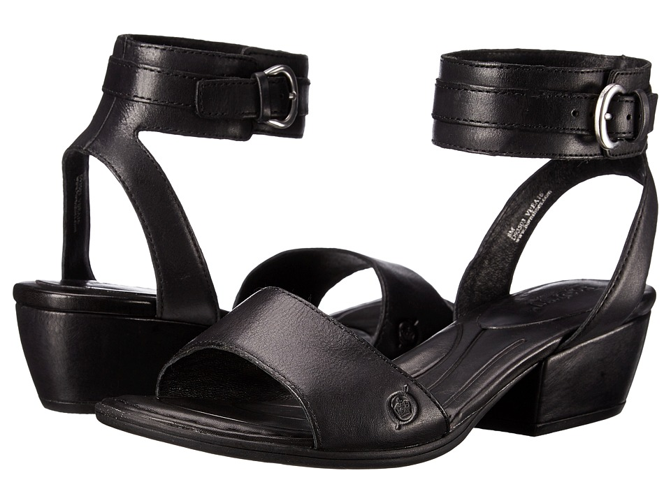 Born - Beyer (Black Full Grain Leather) Women's Sandals