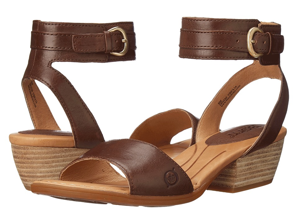 Born - Beyer (Bruciato Full Grain Leather) Women's Sandals