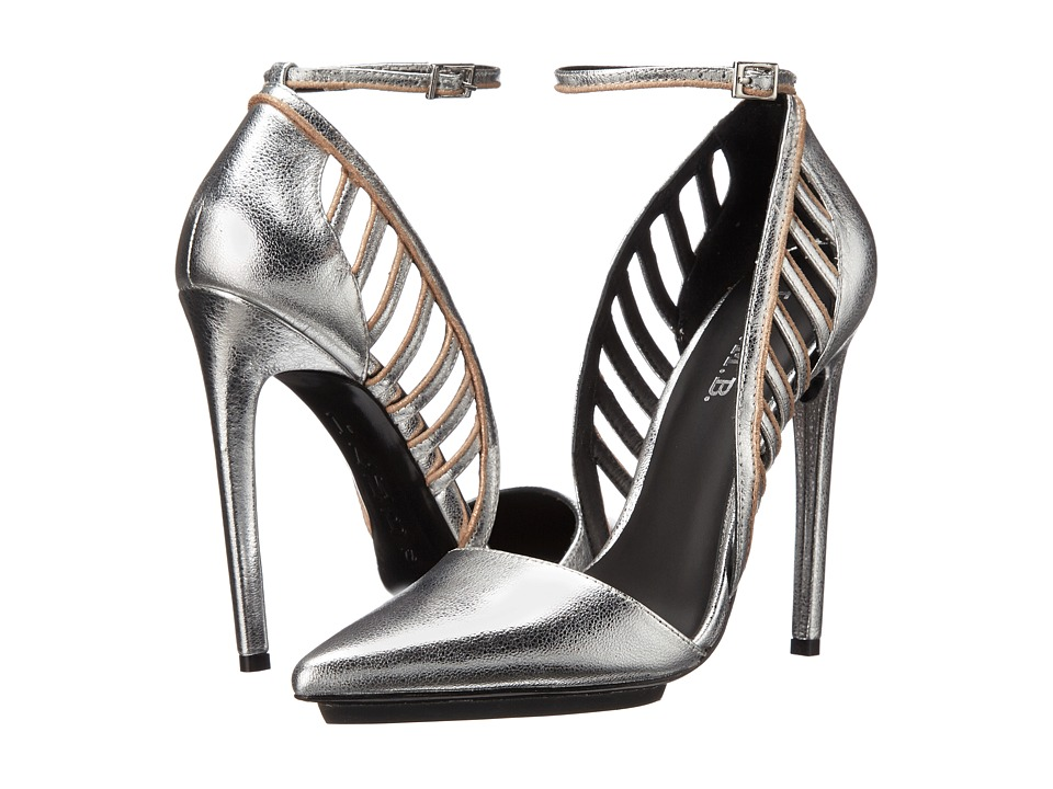 L.A.M.B. Playful (Silver/Rose Gold) High Heels