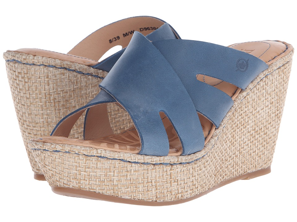 Born Ilara (Denim Full Grain Leather) Women