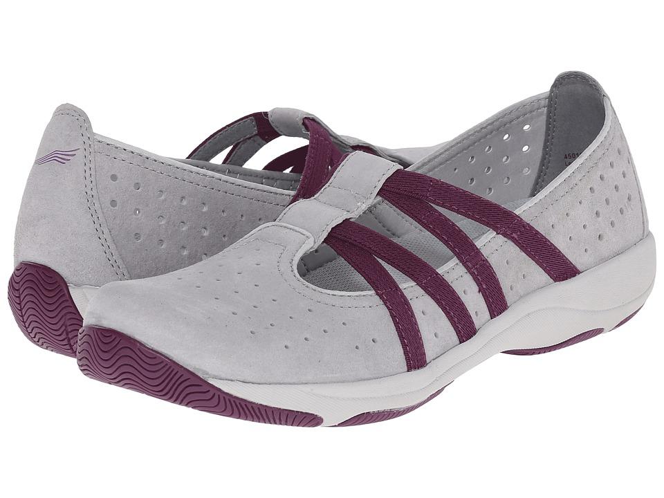 Dansko - Hope (Grey Suede) Women's Slip on Shoes