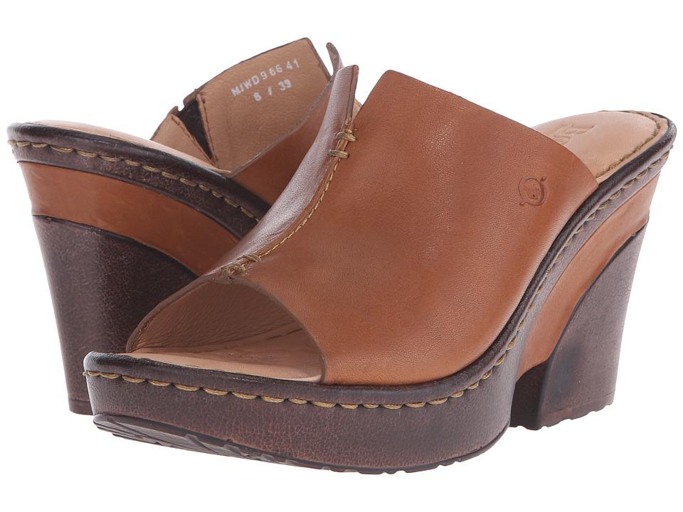 Born - Birch (Luggage Full Grain Leather) High Heels