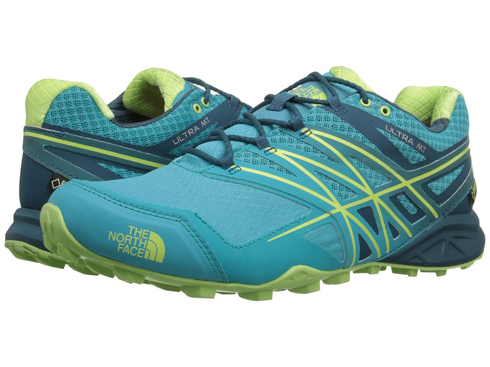 The North Face - Ultra MT GTX(r) (Bluebird/Budding Green) Women's Shoes