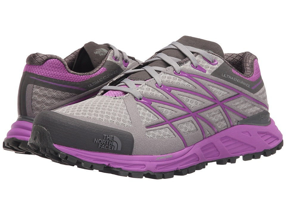 The North Face - Ultra Endurance (Foil Grey/Sweet Violet) Women's Shoes