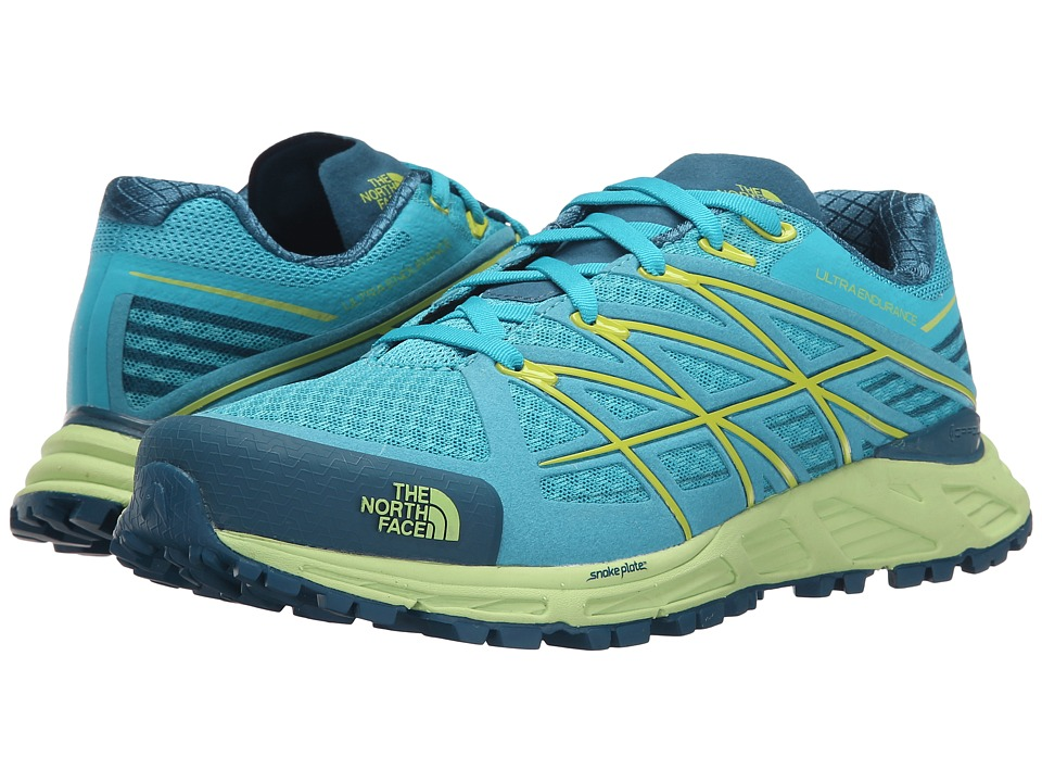 The North Face - Ultra Endurance (Bluebird/Budding Green) Women's Shoes