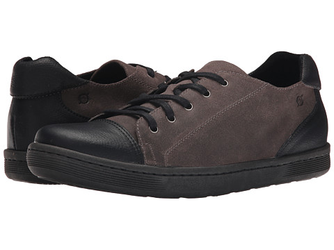 Born - Sanchez (Deep Grey/Black Combo) Men's Lace up casual Shoes