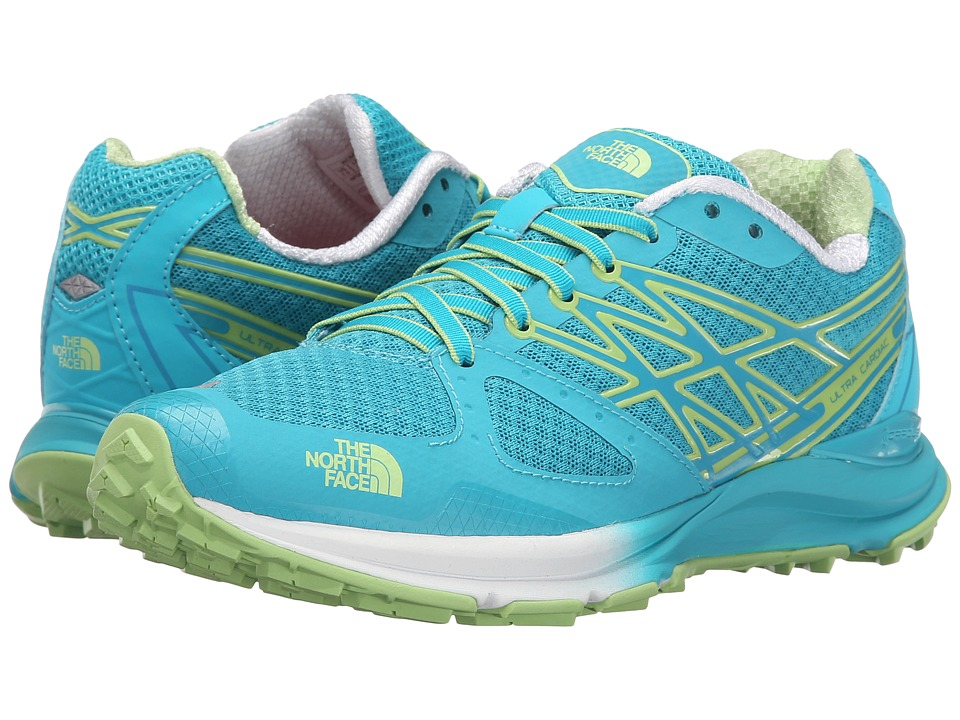 The North Face - Ultra Cardiac (Bluebird/Budding Green) Women's Shoes