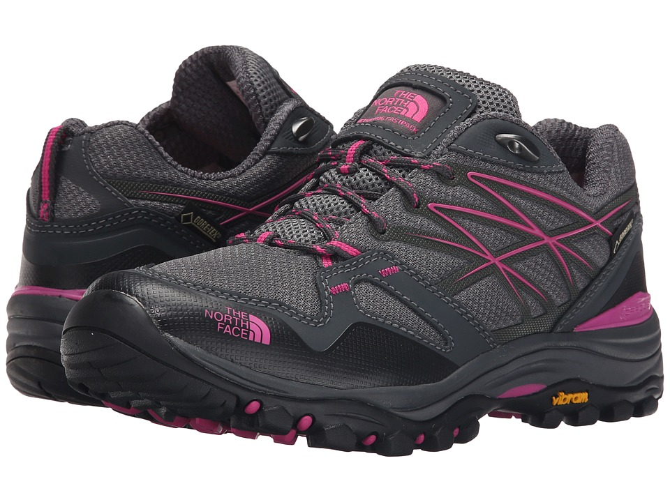 The North Face - Hedgehog Fastpack GTX (Zinc Grey/Raspberry Rose) Women's Shoes