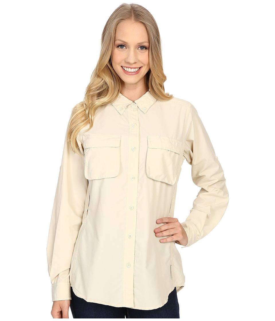ExOfficio Air Strip Long Sleeve Shirt (Bone) Women