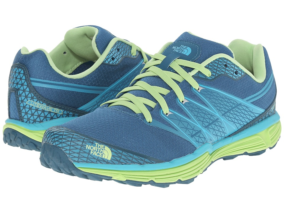 The North Face - Litewave TR (Blue Coral/Budding Green) Women's Running Shoes