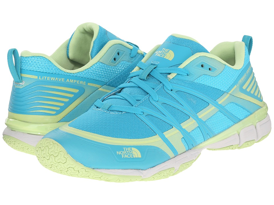 The North Face - Litewave Ampere (Bluebird/Budding Green) Women's Shoes