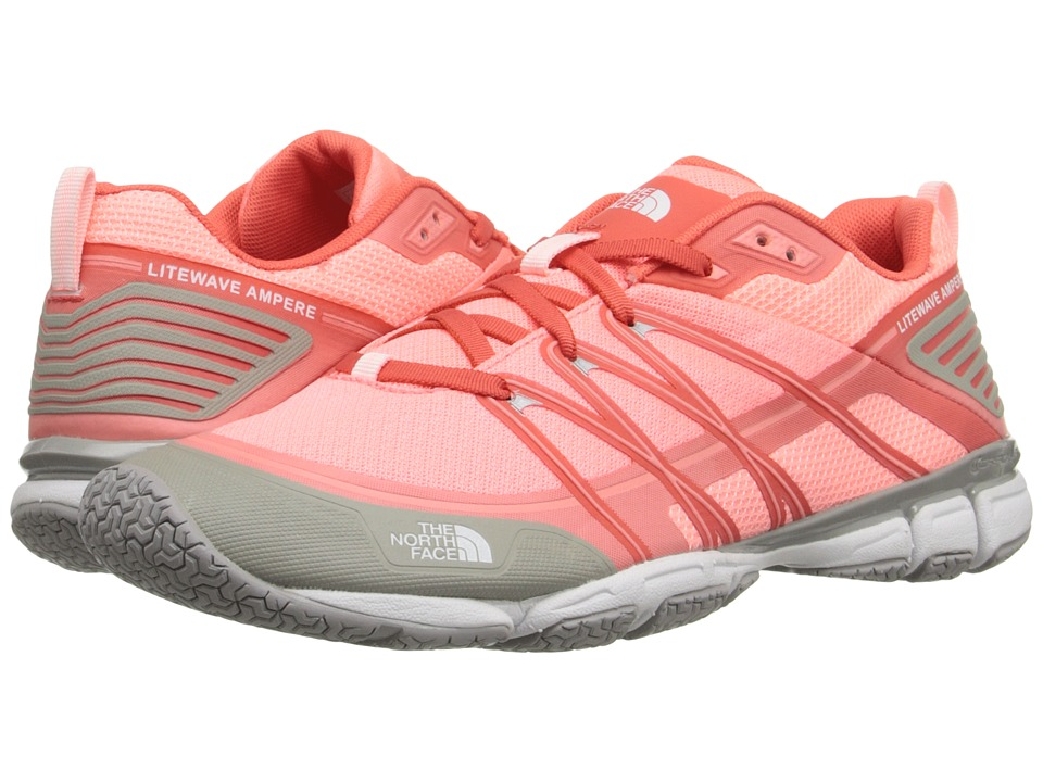 The North Face - Litewave Ampere (Neon Peach/Tropical Coral) Women's Shoes