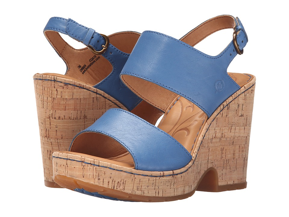 Born Annaleigh (Blue Full Grain Leather) High Heels