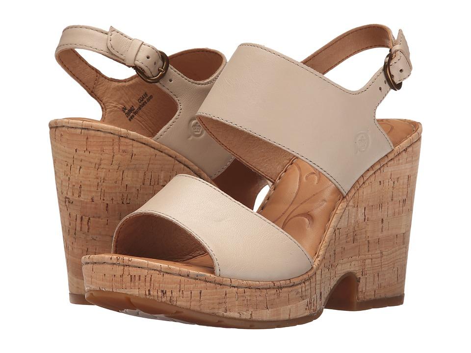Born Annaleigh (Natural Full Grain Leather) High Heels