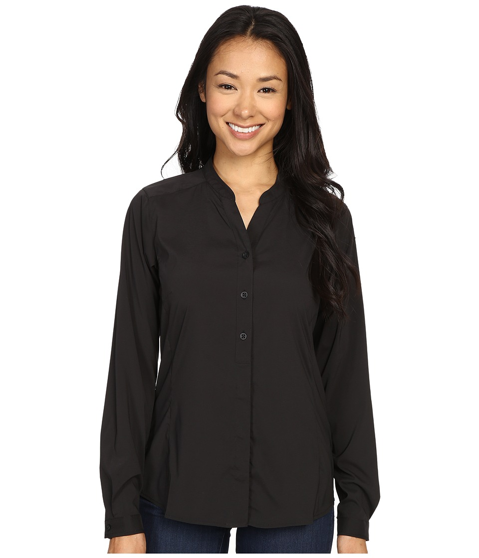 ExOfficio Safiritm Long Sleeve Shirt (Black) Women