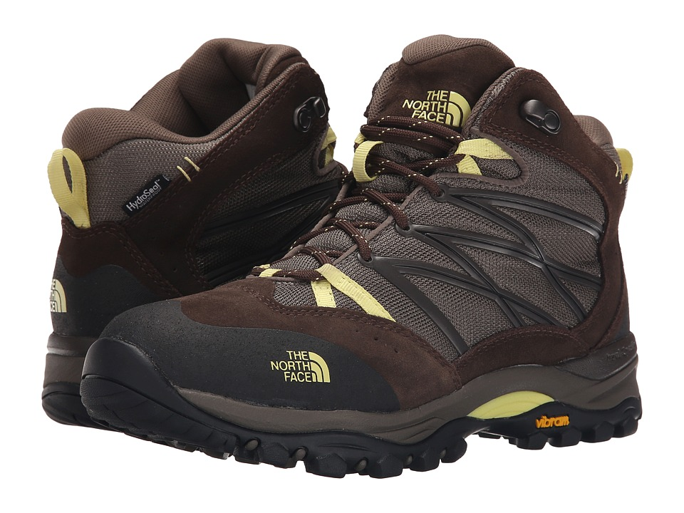 The North Face - Storm II Mid WP (Shroom Brown/Chiffon Yellow) Women's Cold Weather Boots