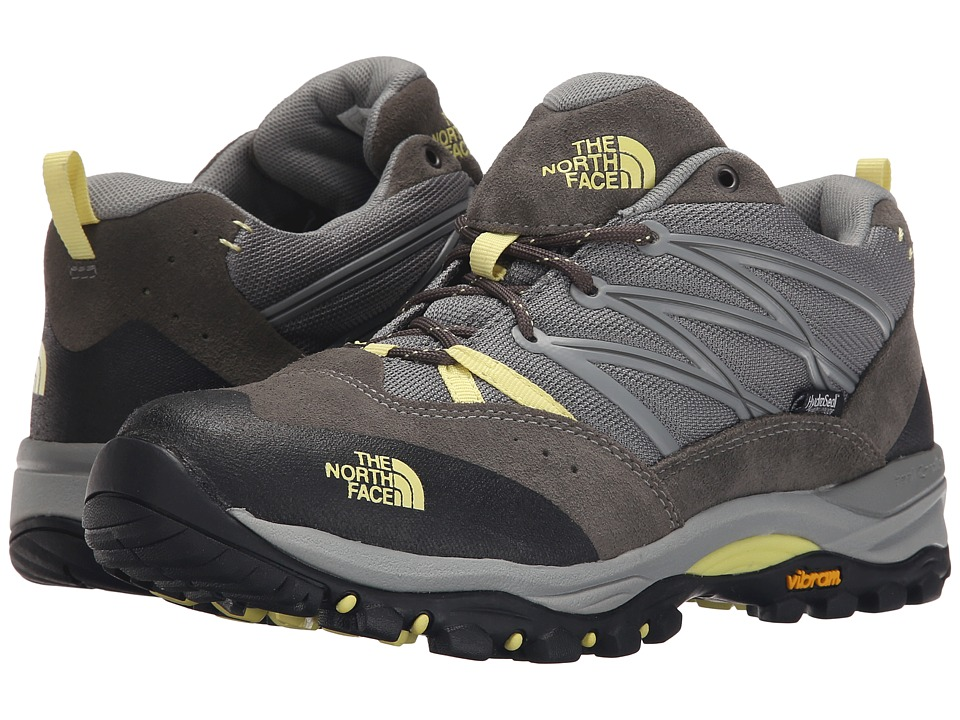 The North Face - Storm II WP (Moon Mist Grey/Chiffon Yellow) Women's Shoes