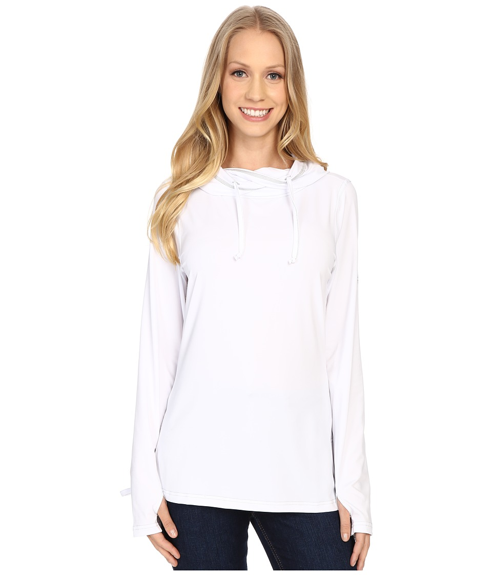 ExOfficio - Sol Cool Ultimate Hoody (White) Women's Clothing