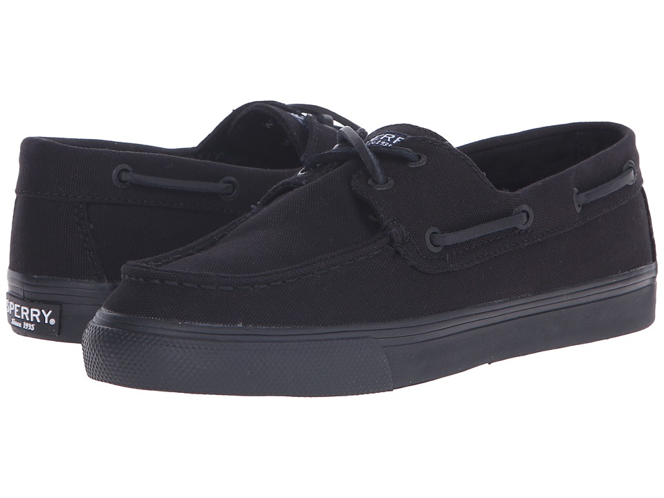 Sperry Bahama Core (Black/Black Canvas) Women